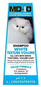 MD10 CAT White Texture Volume Shampoo 300ml  (1.2 Litre Diluted)